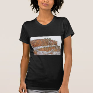Colorado Red Sandstone Country Dusted with Snow T-shirts