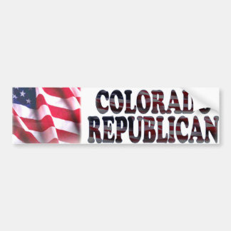 Colorado Republican Bumper Sticker