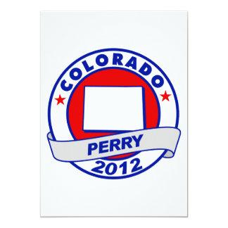 Colorado Rick Perry Invitación 12,7 X 17,8 Cm
