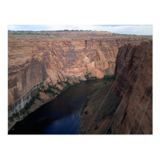 Colorado River at Glen Canyon Dam Postcard