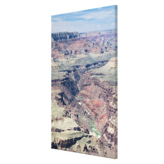 Colorado River flowing through the Inner Gorge Stretched Canvas Print