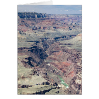 Colorado River flowing through the Inner Gorge Greeting Card