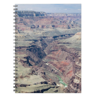Colorado River flowing through the Inner Gorge Spiral Notebook