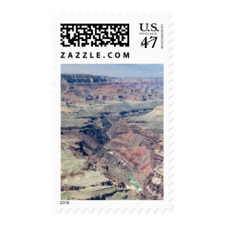 Colorado River flowing through the Inner Gorge Postage Stamp
