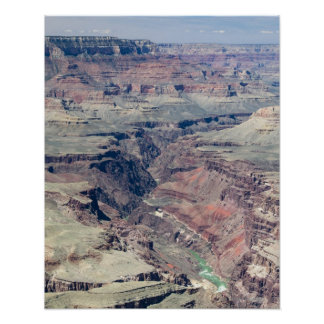 Colorado River flowing through the Inner Gorge Poster