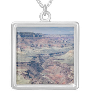 Colorado River flowing through the Inner Gorge Silver Plated Necklace