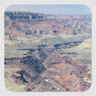 Colorado River flowing through the Inner Gorge Square Stickers