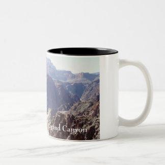 Colorado River, Grand Canyon Two-Tone Coffee Mug