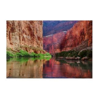 Colorado river in Grand Canyon, AZ Acrylic Wall Art