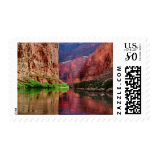 Colorado river in Grand Canyon, AZ Postage
