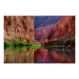 Colorado river in Grand Canyon, AZ Poster