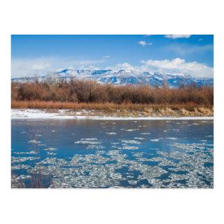 Colorado River in Winter Postcard