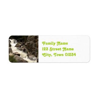 Colorado River Return Address Label
