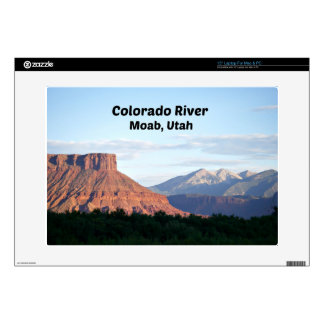 Colorado River, Moab, UT Decal For Laptop