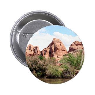 Colorado River near Moab, Utah 1 Pinback Button