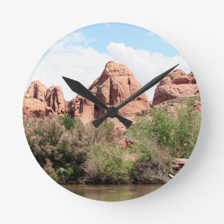 Colorado River near Moab, Utah 1 Round Clock