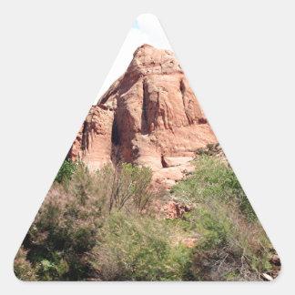Colorado River near Moab, Utah 1 Triangle Sticker