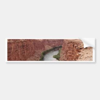 Colorado River near Navajo Bridge, Arizona, USA Bumper Sticker