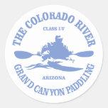Colorado River (rd) Classic Round Sticker