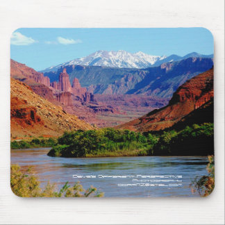 Colorado River Scenic By-Way Mouse Pad
