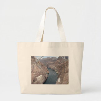 Colorado River Under Hoover Dam Canvas Bag