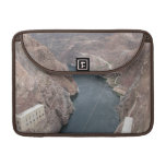 Colorado River Under Hoover Dam Bridge Sleeves For MacBooks