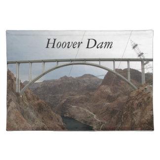 Colorado River Under Hoover Dam Cloth Placemat