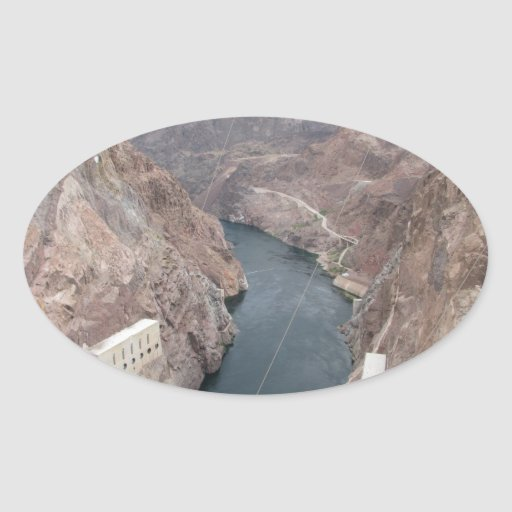 Colorado River Under Hoover Dam Stickers