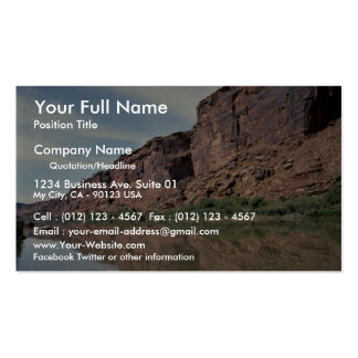 Colorado River, Utah, USA Double-Sided Standard Business Cards (Pack Of 100)