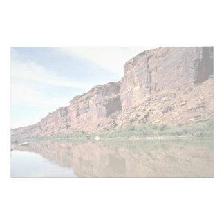 Colorado River, Utah, USA Stationery Design