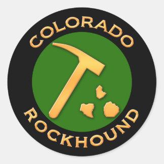 Colorado Rockhound Classic Round Sticker