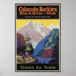 Colorado Rockies Black Hills and Utah Posters