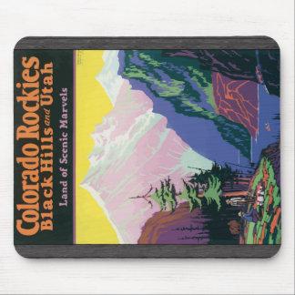Colorado Rockies Black Hills, \ maravillas escénic Tapete De Ratones