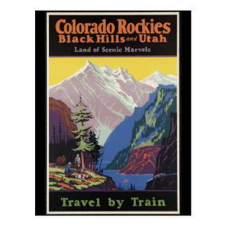 Colorado Rockies Black Hills y Utah Postales