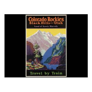 Colorado Rockies Black Hills y Utah Tarjetas Postales