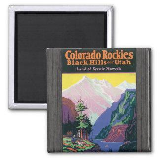 Colorado Rockies Blackhills, \Utahs Scenic Marvels Magnets