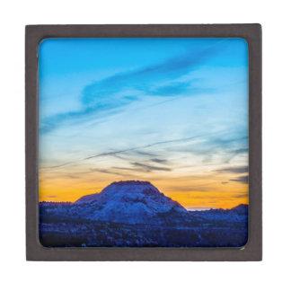 Colorado Rockies sunset Jewelry Box