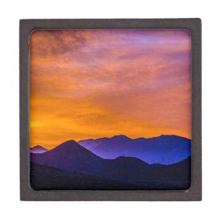 Colorado Rockies sunset Keepsake Box