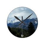 Colorado Rockies Wall Clock