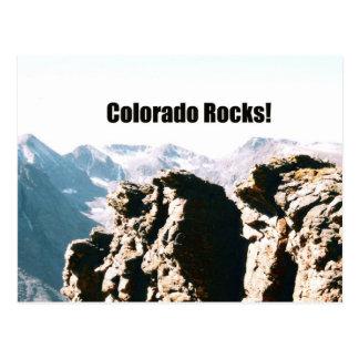 Colorado Rocks! Postcard
