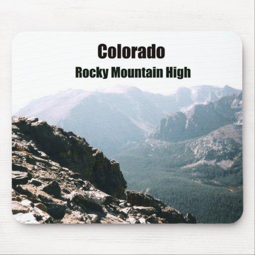 Colorado Rocky Moountains Mouse Pad