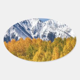 Colorado Rocky Mountain Autumn Magic Sticker