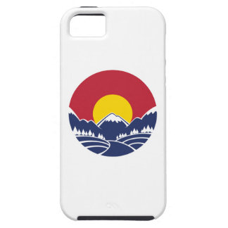 Colorado Rocky Mountain Emblem iPhone 5 Covers