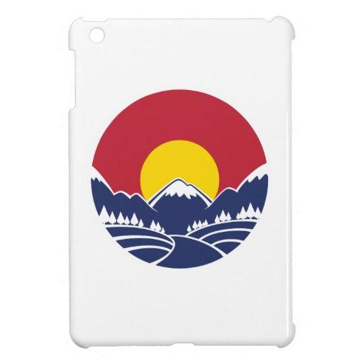 Colorado Rocky Mountain Emblem iPad Mini Cases