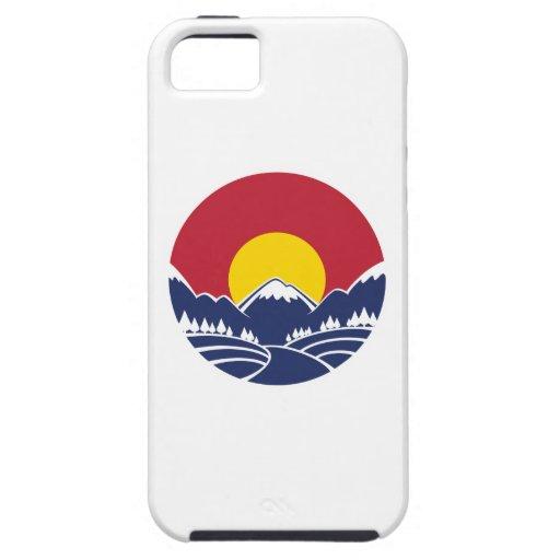 Colorado Rocky Mountain Emblem iPhone 5 Case