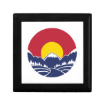 Colorado Rocky Mountain Emblem Jewelry Boxes