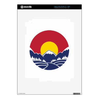 Colorado Rocky Mountain Emblem iPad 2 Decals