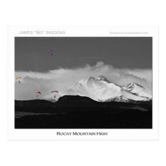 Colorado Rocky Mountain High Postcard