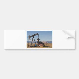Colorado Rocky Mountain Oil Wells Car Bumper Sticker
