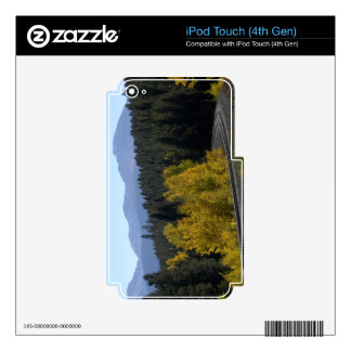 Colorado Rocky Mountain Railroad Skin For iPod Touch 4G